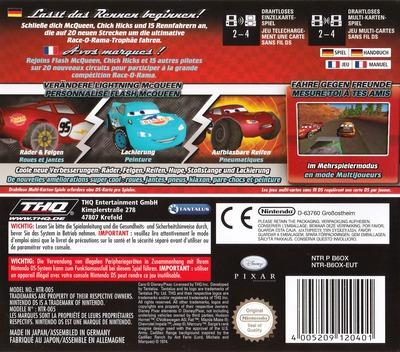 Cars - Race-O-Rama DS backM (B6OX)