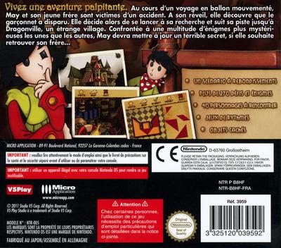 Les Aventures de May - L'Etrange Disparition DS backM (B8HF)