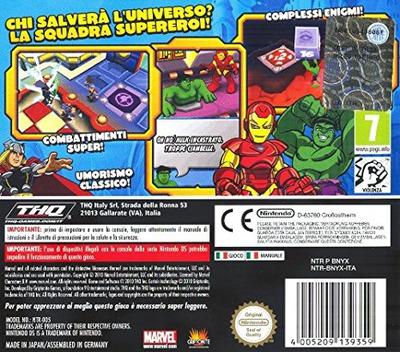Marvel Super Hero Squad - The Infinity Gauntlet DS backM (BNYX)