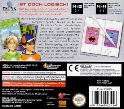 Think - Training für den Kopf - Kids - Ist Doch Logisch! DS backM (BTHD)