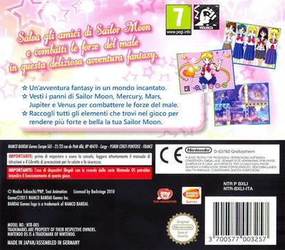 Sailor Moon - La Luna Splende DS backM (BXLI)