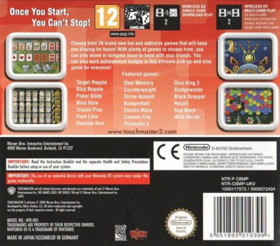 TouchMaster 3 DS backM (C6MP)