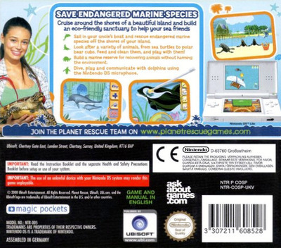 Planet Rescue - Ocean Patrol DS backM (COSP)
