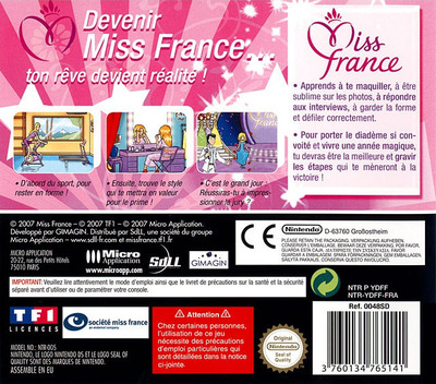 Deviens Miss France DS backM (YDFF)