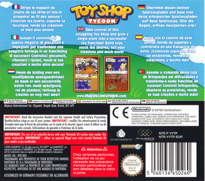 Toy Shop Tycoon DS backM (YYTP)