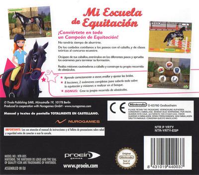 Mi Escuela De Equitación DS backM (YRTY)