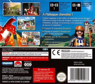 Playmobil Interactive - Chevalier - Héros du Royaume DS backM (CIYP)
