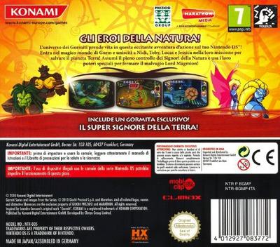 Gormiti - Gil Eroi Della Natura! DS backM (BGMP)