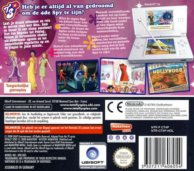 Totally Spies! 4 - Wereldtour DS backM (CT4P)