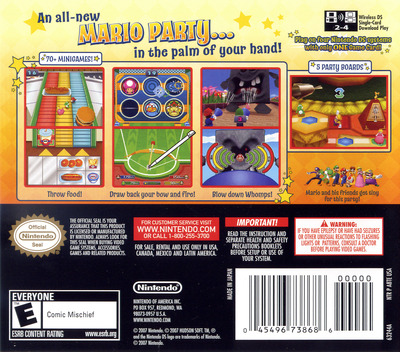 Mario Party DS DS backM (A8TE)