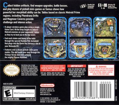 Metroid Prime Pinball DS backM (AP2E)