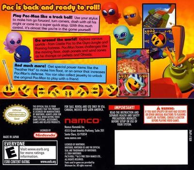 Pac'n Roll DS backM (APNE)
