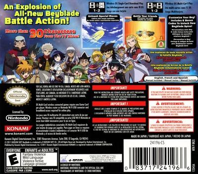 Beyblade - Metal Masters DS backM (BRZE)
