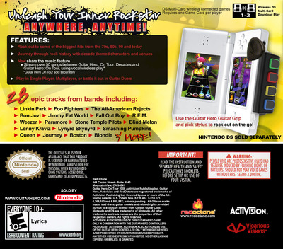 Guitar Hero - On Tour - Decades DS backM (CGSE)