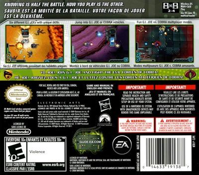 G.I. Joe - The Rise of Cobra DS backM (CJPE)