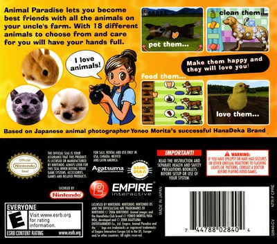 Animal Paradise DS backM (CPRE)