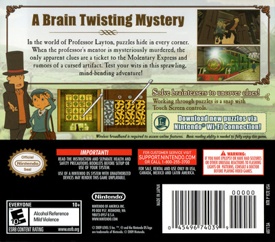 Professor Layton and the Diabolical Box DS backM (YLTE)
