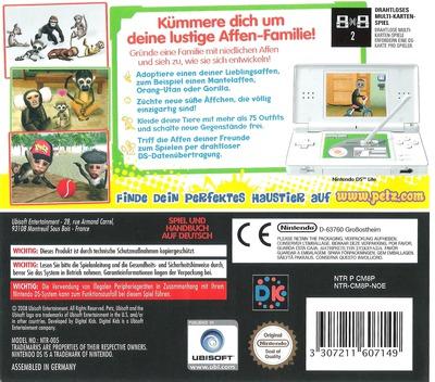 Petz - Meine Affen-Fanilie DS backM2 (CM8P)
