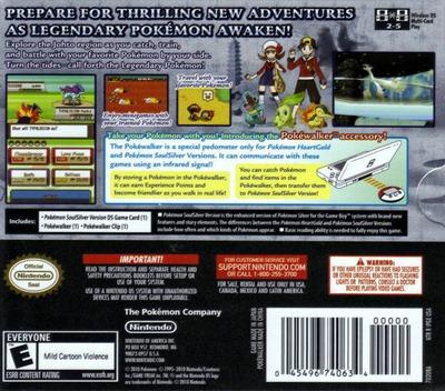 Pokémon - HeartGold Version DS backM2 (IPKE)