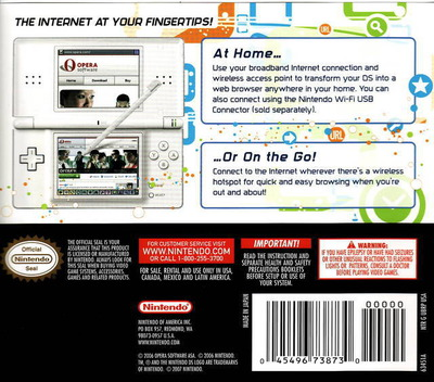 Nintendo DS Browser DS backMB (UBRP)