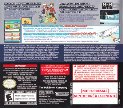 Pokémon - SoulSilver Version DS backMB2 (IPGE)