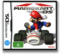 Mario Kart DS DS cover (AMCP)