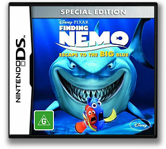 Finding Nemo - Escape to the Big Blue (Special Edition) DS cover (TFNY)