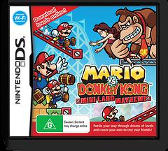 Mario vs. Donkey Kong - Mini-Land Mayhem! DS cover (V2GV)