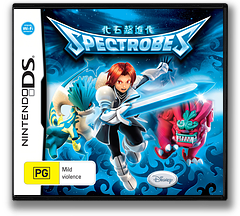 Spectrobes - Beyond the Portals DS cover (YV4P)