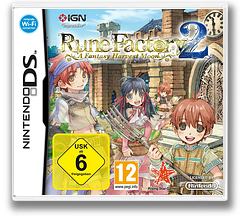 Rune Factory 2 - A Fantasy Harvest Moon DS cover (A6NP)