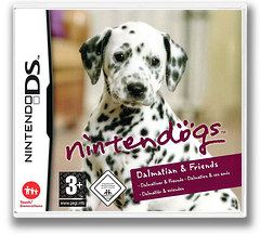Nintendogs - Dalmatiner & Freunde DS cover (AD7P)