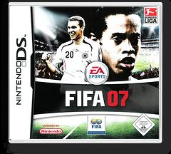FIFA 07 DS cover (AF7P)