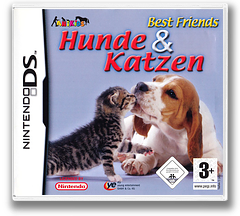 My Best Friends - Cats & Dogs DS cover (AHJX)