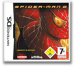 Spider-Man 2 DS cover (AS2X)