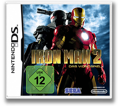 Iron Man 2 - The Video Game DS cover (B2IP)