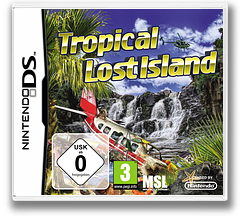 Tropical Lost Island DS cover (B2LP)