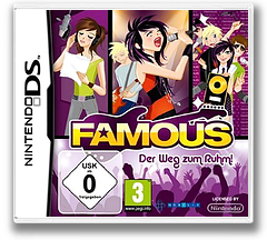 Famous - The Road to Glory! DS cover (BFMP)