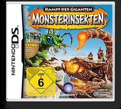 Kampf der Giganten - Monsterinsekten DS cover (BIGP)