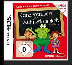 Konzentration und Aufmerksamkeit 1.-4. Klasse DS cover (BL6D)