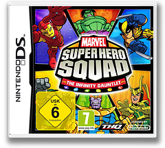 Marvel Super Hero Squad - The Infinity Gauntlet DS cover (BNYP)
