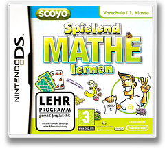 Spielend Mathe Lernen DS cover (BSED)