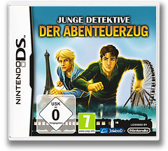 The Hardy Boys - Treasure on the Tracks DS cover (C3TP)
