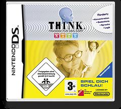 Think - Training fuer den Kopf - Kids - Spiel Dich Schlau! DS cover (CI9P)