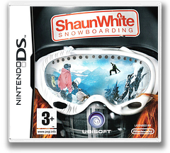 Shaun White Snowboarding DS cover (CU3P)