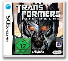 Transformers - Revenge of the Fallen - Decepticons Version DS cover (CXOX)