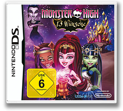 Monster High - 13 Wishes DS cover (TM6P)