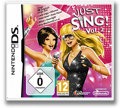 Just Sing! - Vol. 2 DS cover (VJVP)