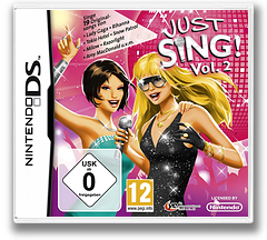 Just Sing! - Vol. 2 DS cover (VJVV)