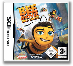 Bee Movie Game DS cover (YB4P)