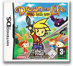 Drawn to Life DS cover (YDWP)